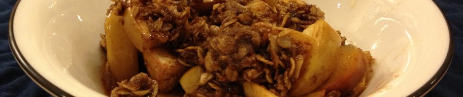 Apple Crisp with Oat Crumble Topping