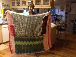 big blanket is finished!